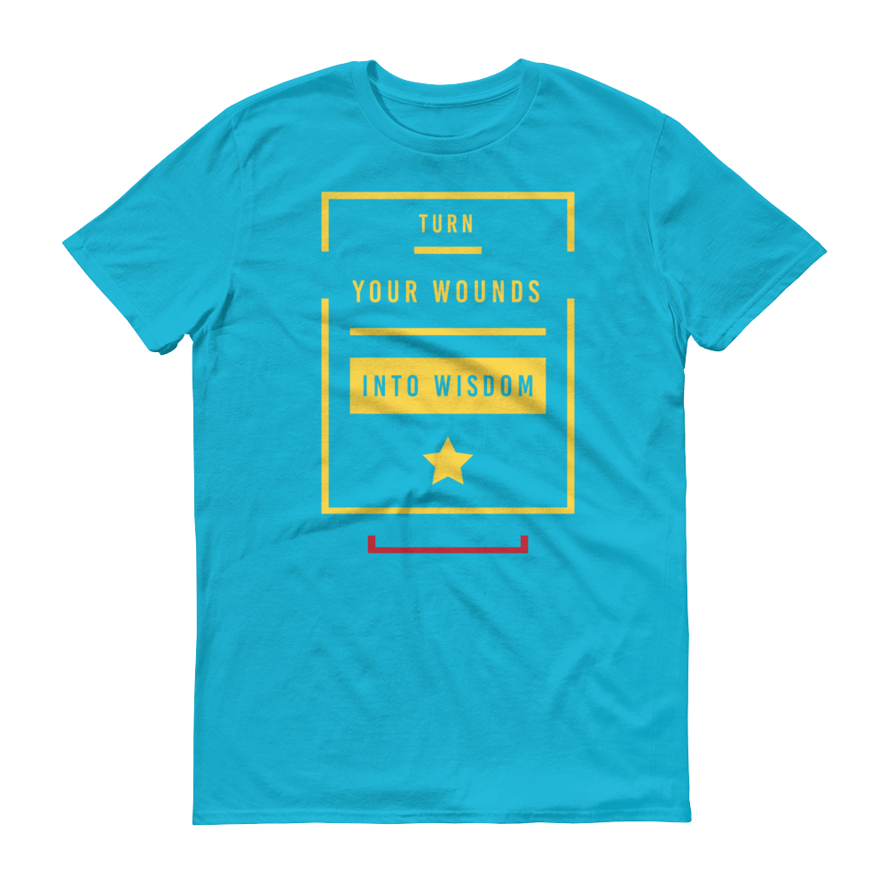 Men's Wounds Into Wisdom Tshirt