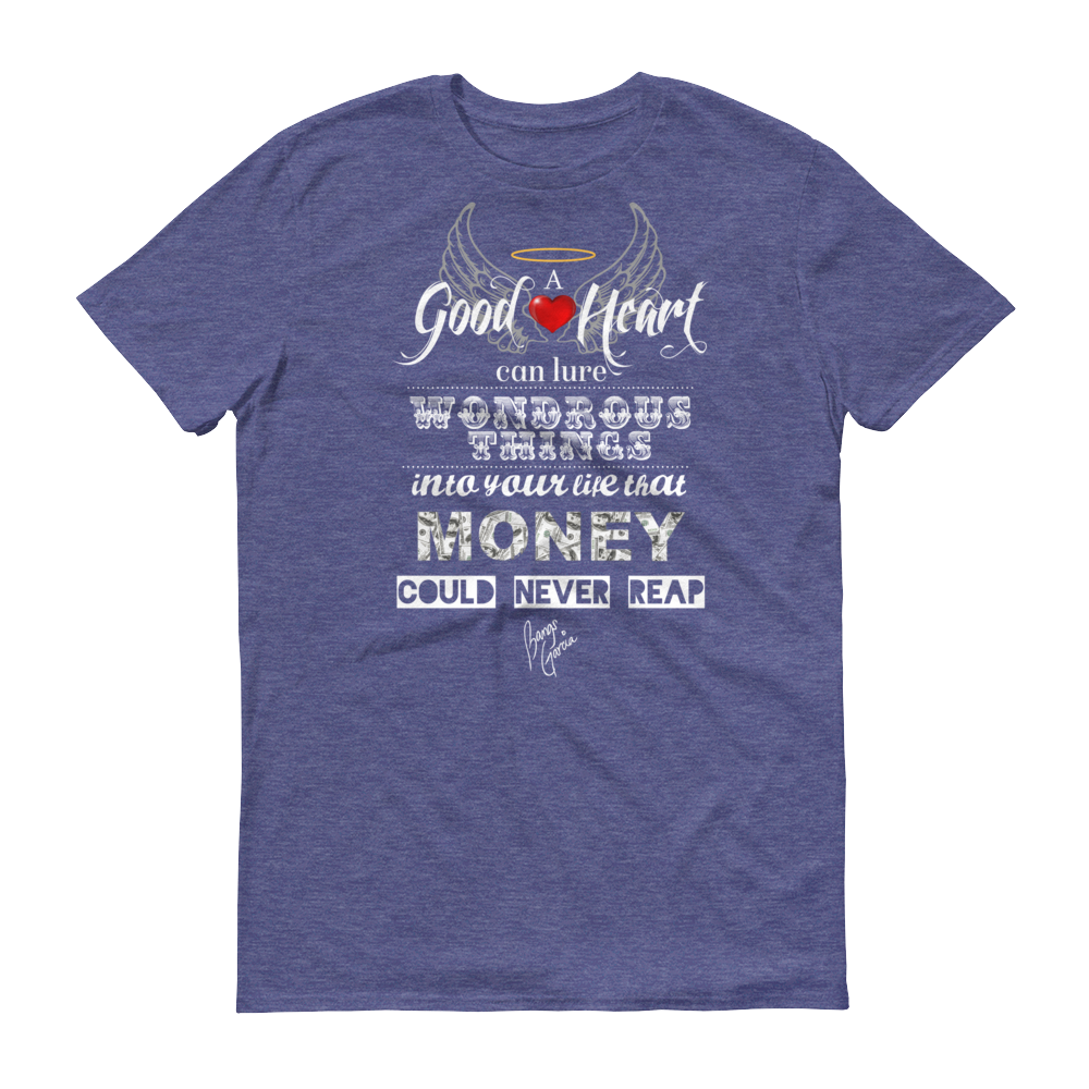 Men's Good Heart Tshirt - Dark