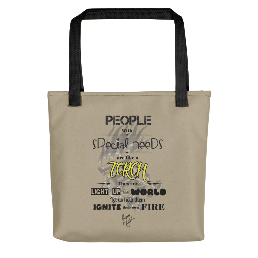 Torch Tote bag