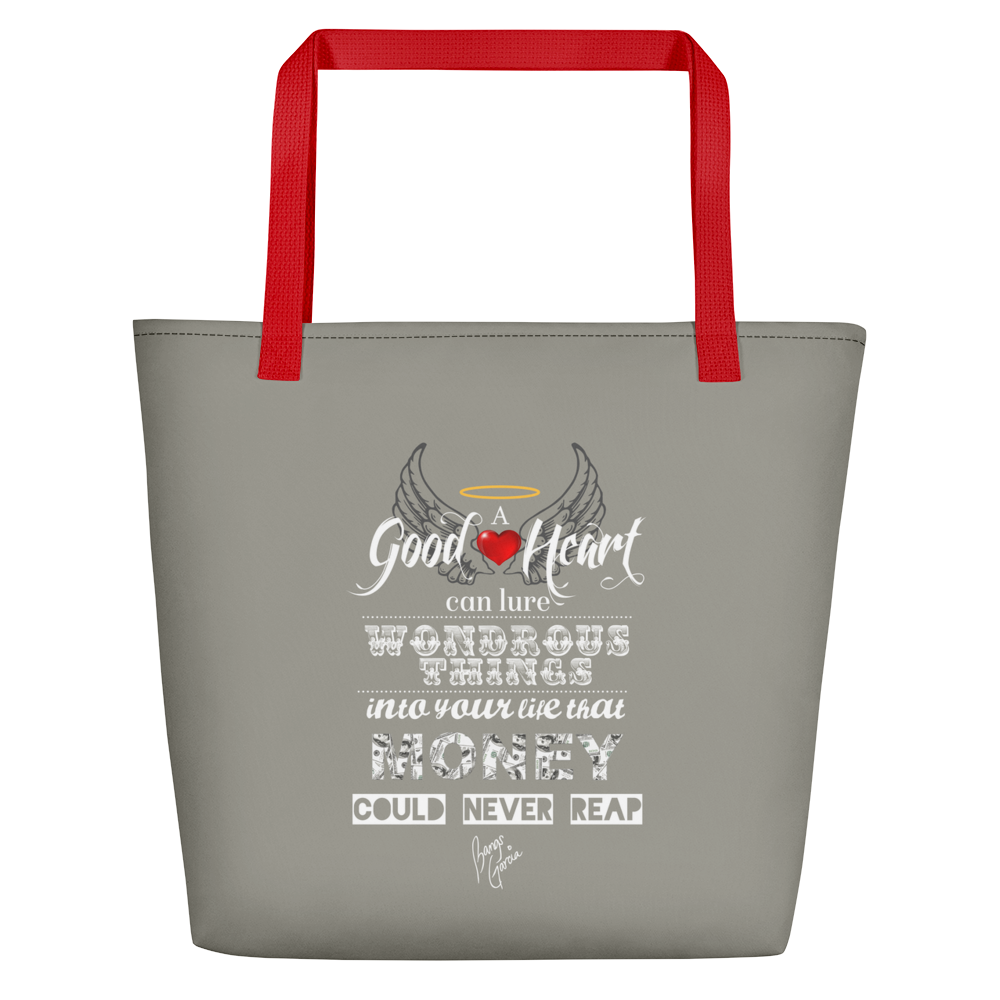 Good Heart Beach Bag