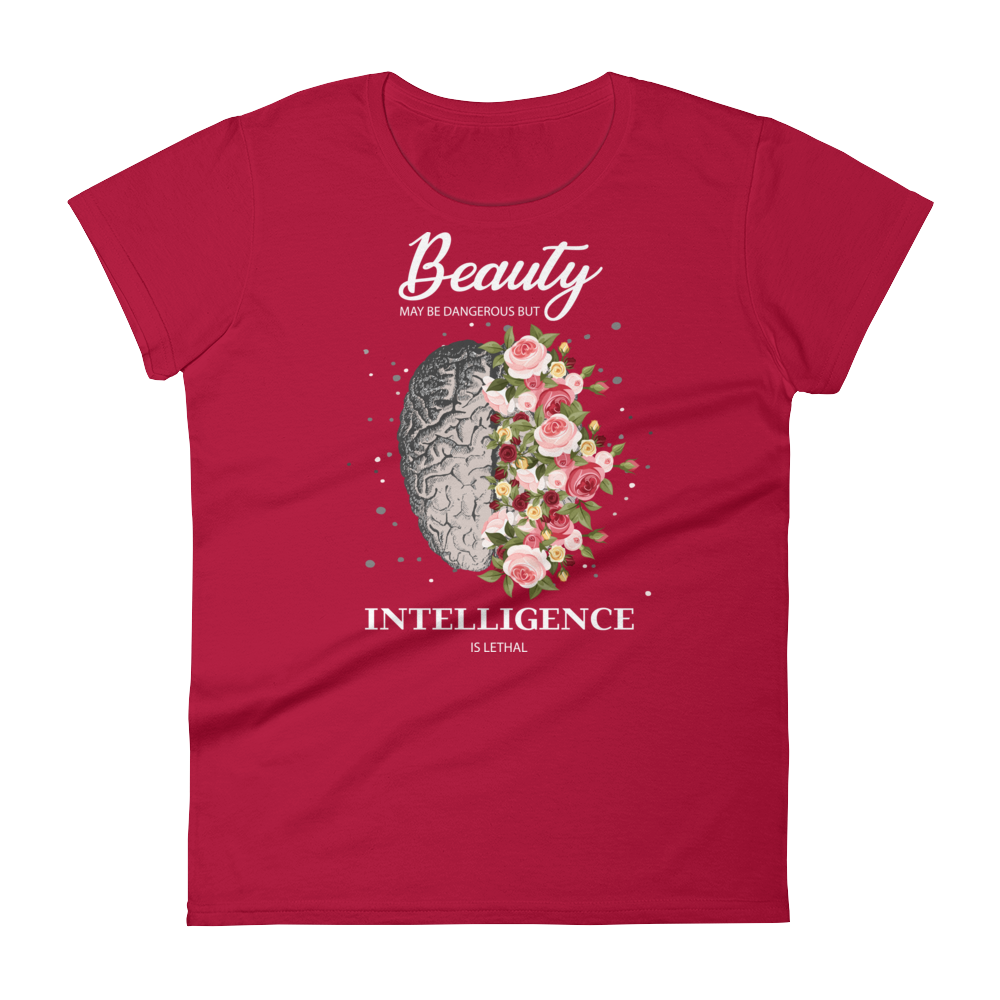 Women's Beauty Tshirt - Dark