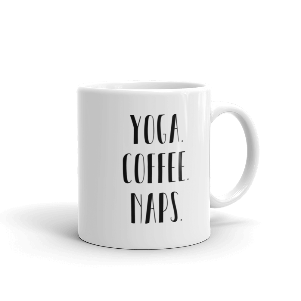 Mug: Yoga Coffee Naps