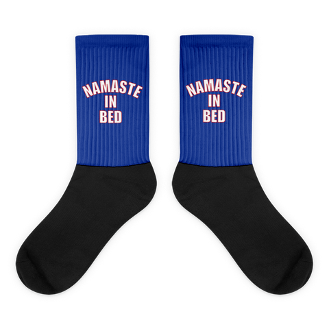 Socks: Namaste In Bed