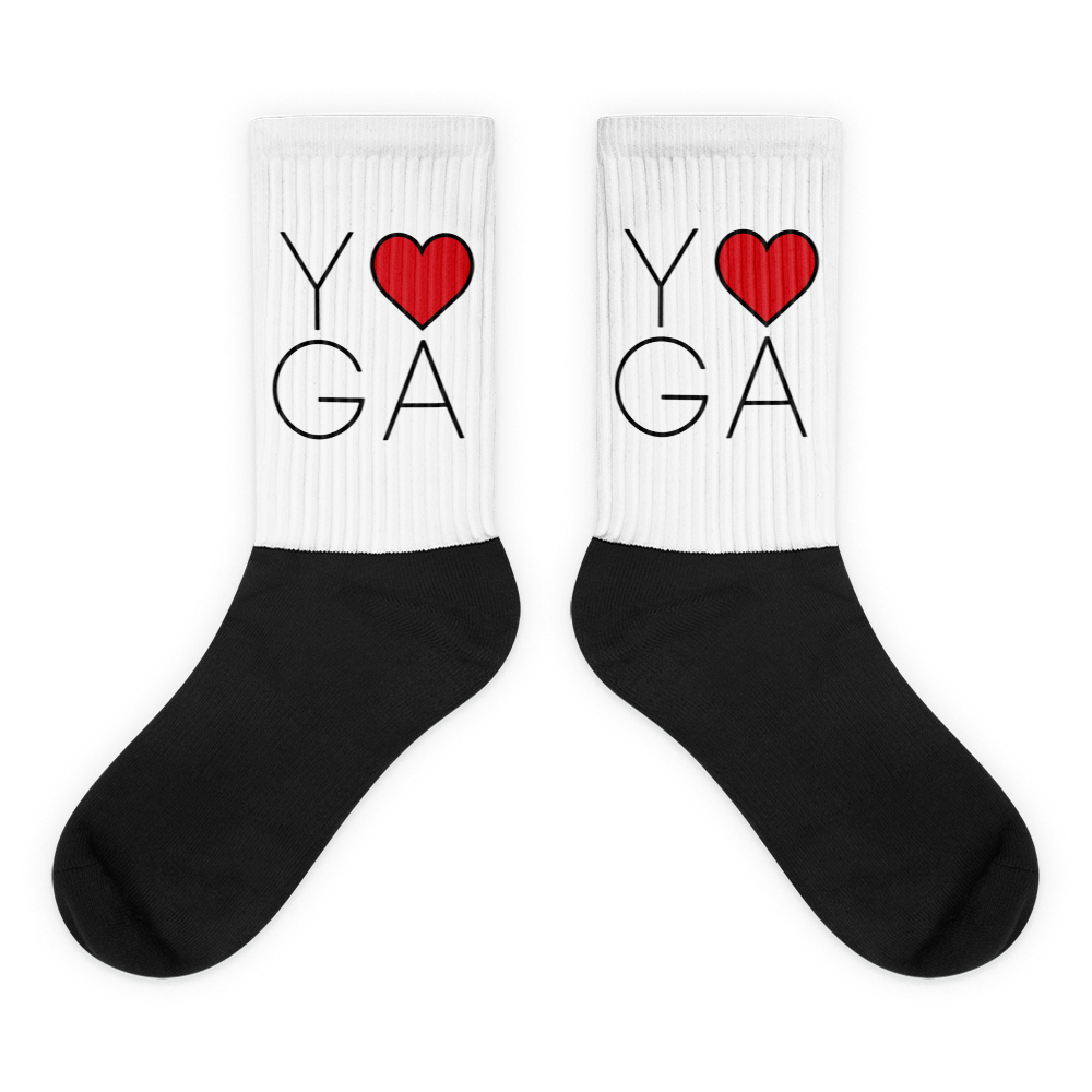 Socks: Yoga Love