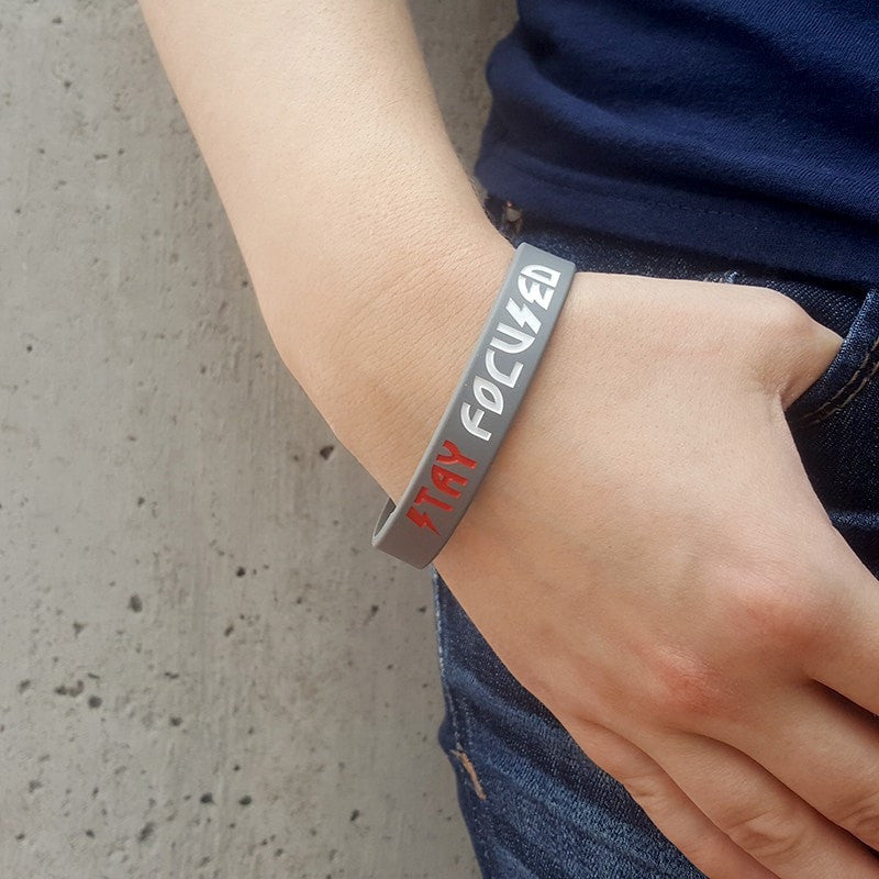 Stay Focused Wristband