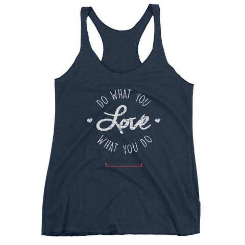 Women's Stay True Motivational Fitness Tank Top