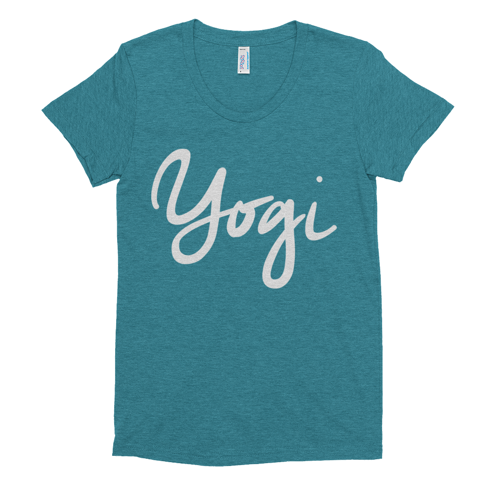 Women's Short Sleeve Soft T-Shirt: Yogi