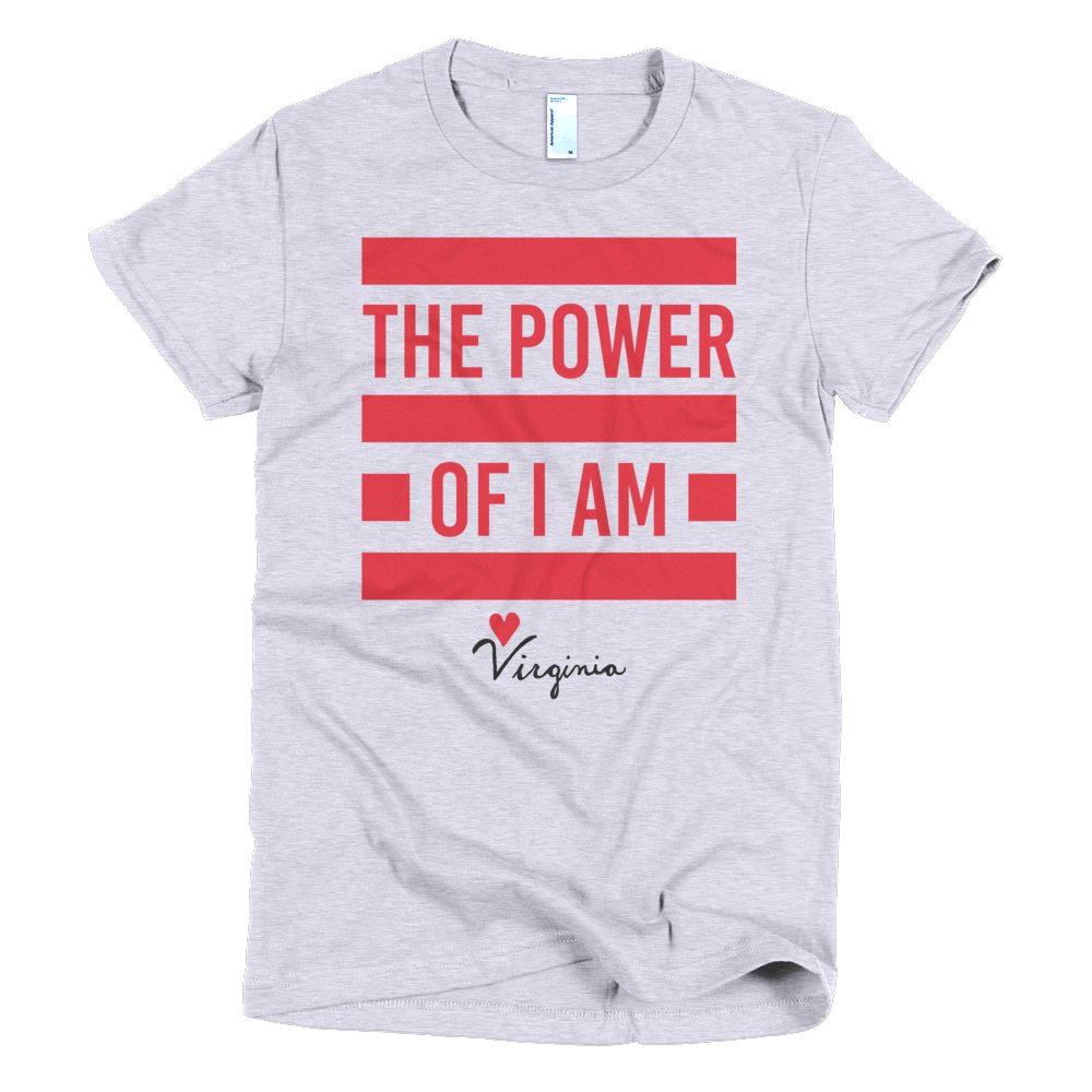 Women's The Power of I Am Tshirt