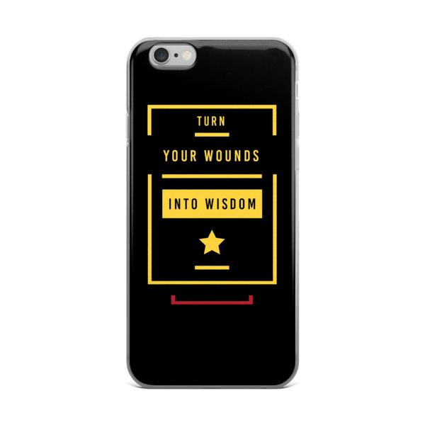 Wounds Into Wisdom iPhone 6/6s, 6 Plus, 6s Plus Case