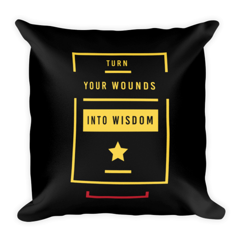Wounds Into Wisdom Pillow