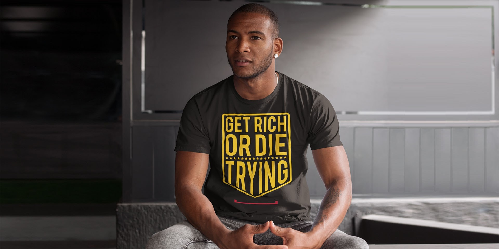 Get Rich or Die Trying Tshirt