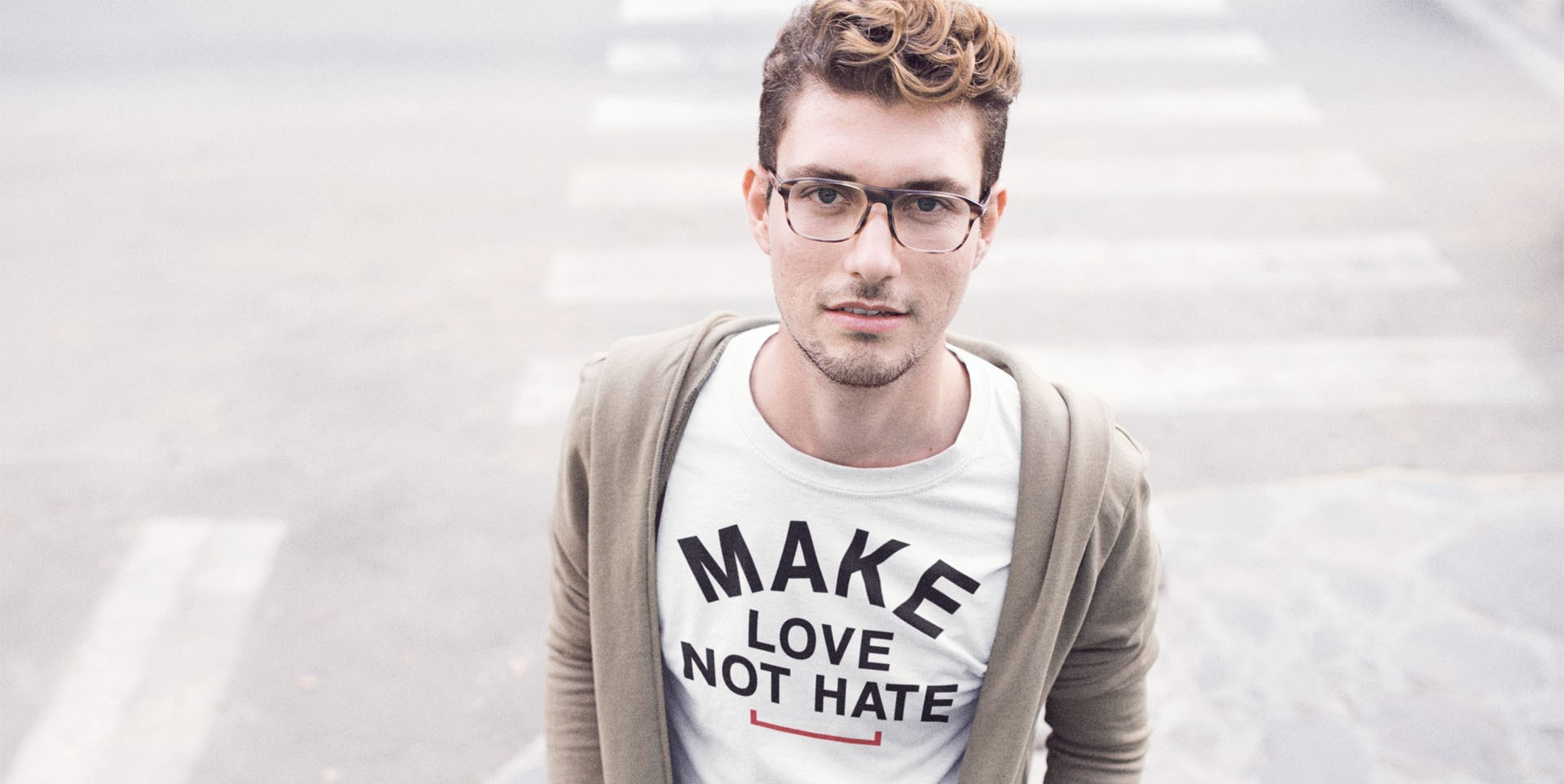 Make Love Not Hate Tshirt