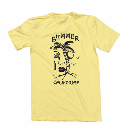 BUMMER CA. - KYLE GRAND - YELLOW T-SHIRT