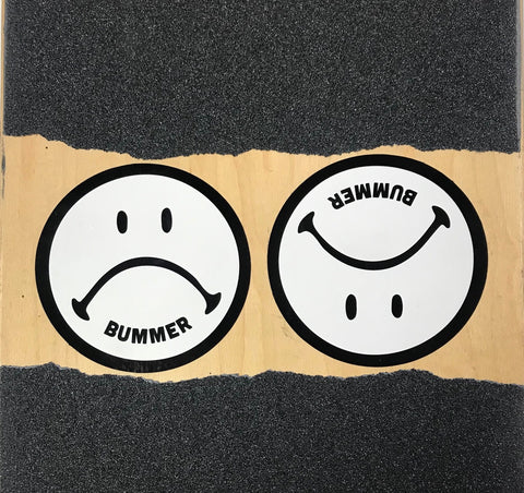 SAD FACE STICKER 2-PACK