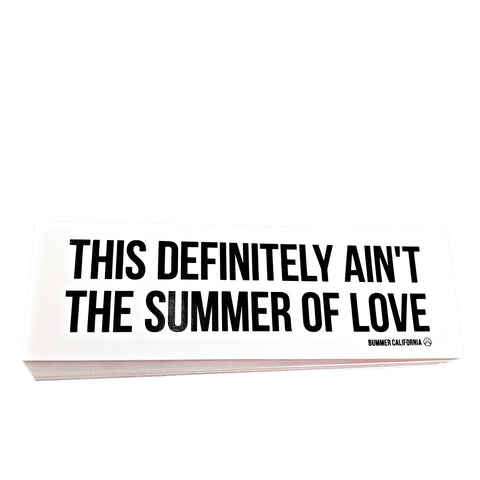 SUMMER OF LOVE STICKER