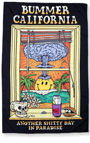 BUMMER CALIFORNIA WINDOW TAPESTRY