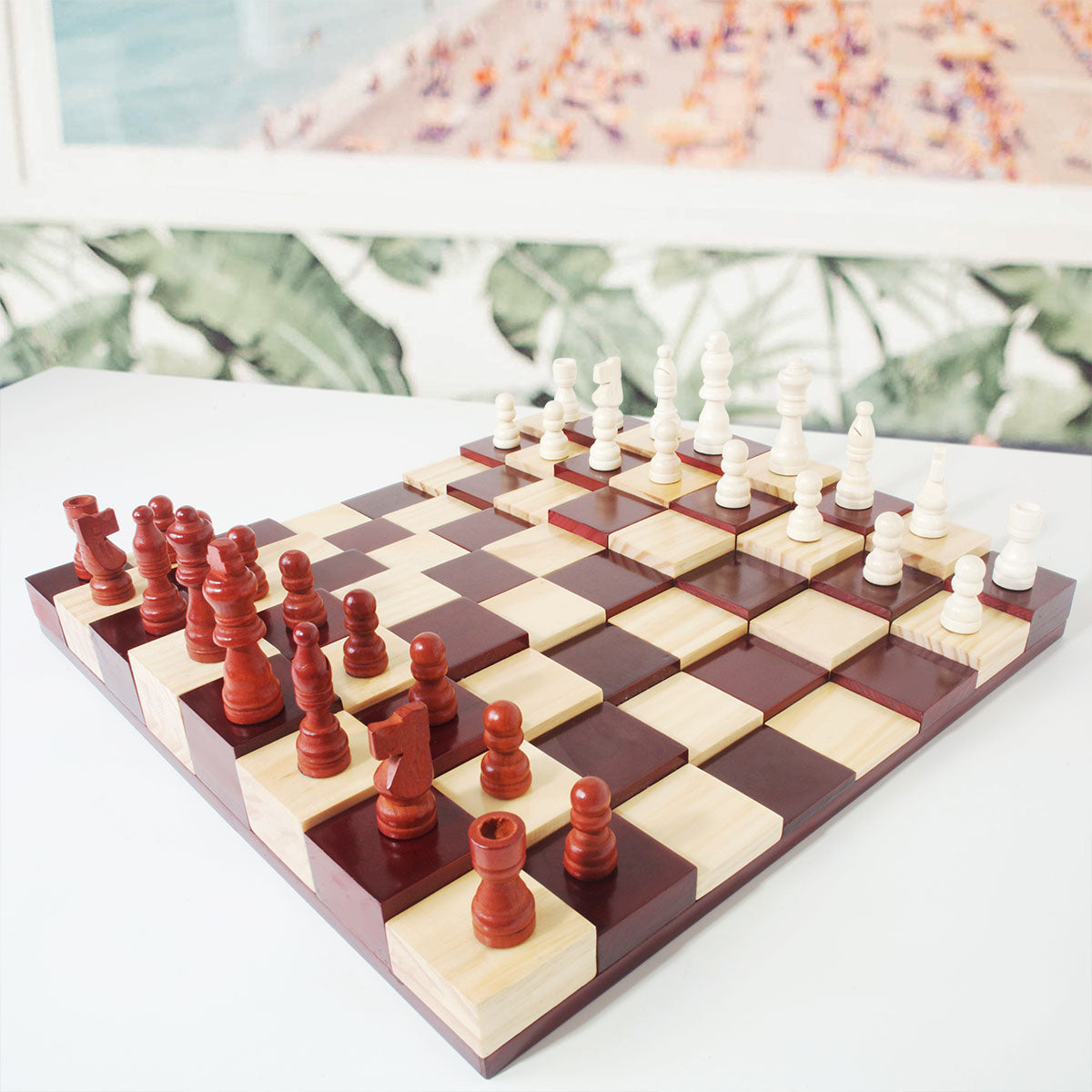 Great Multi Level Chess Set