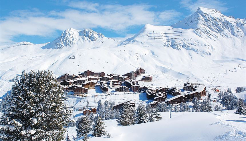 Most visited ski resorts