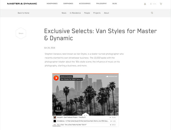 Exclusive Selects :: Master & Dynamic