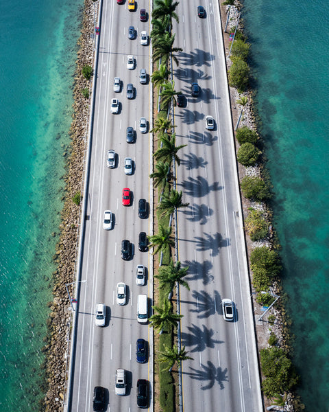 Running Patterns :: Flying Over Miami with South Beach Helicopters
