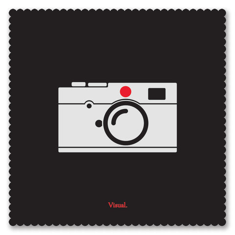 V/SUAL X LEICA - Camera Lens Cloth