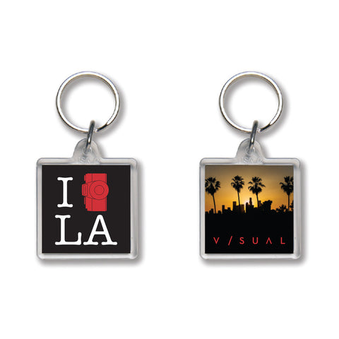 Shoot L.A. Keychain