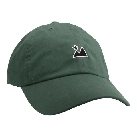 Landscape Unstructured Hat - Forest Green