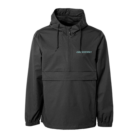 Network Hooded Anorak Jacket - Black