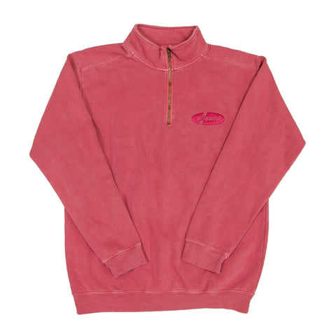 PIL 1/4 Zip Sweatshirt - Faded Crimson