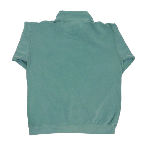 PIL 1/4 Zip Sweatshirt - Faded Mint