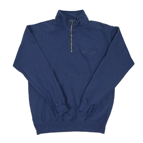 PIL 1/4 Zip Sweatshirt - Faded Navy