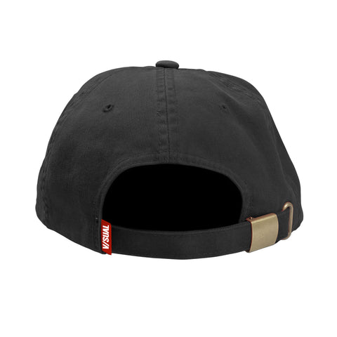 Red Eye Unstructured Hat - Black