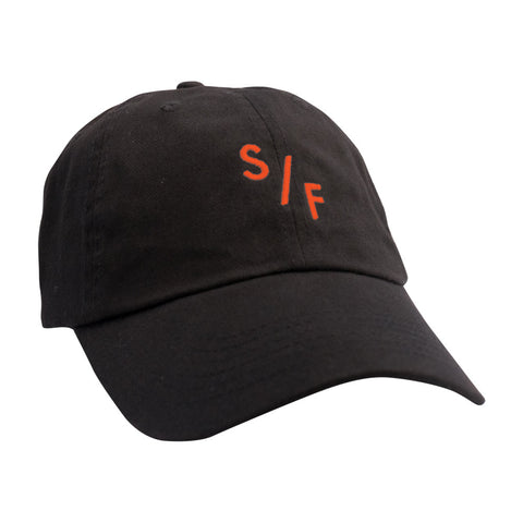 SF Unstructured Hat - Black