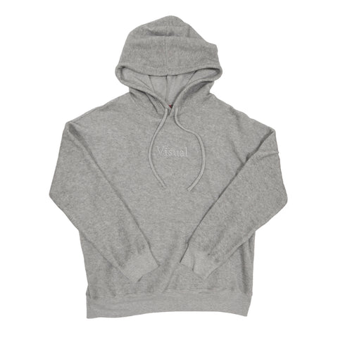 Simple Sueded Fleece Pullover Hoody - Athletic Heather