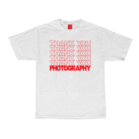 Thank You Photography Tee - White