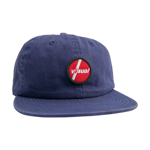 Visual PIL Patch Unstructured Hat - Navy