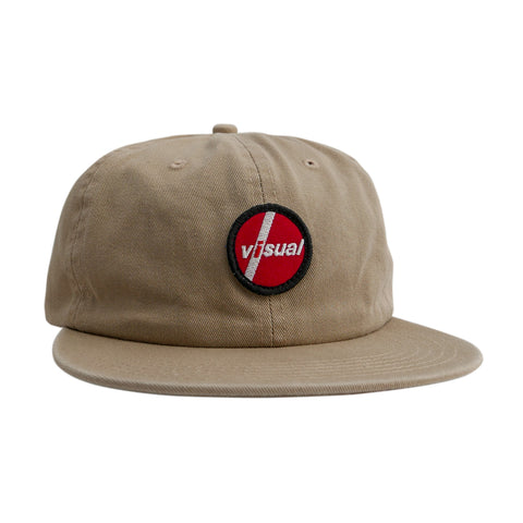 Visual PIL Patch Unstructured Hat - Tan