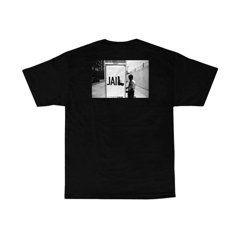 V/SUAL X BOOGIE Jail Tee - Black