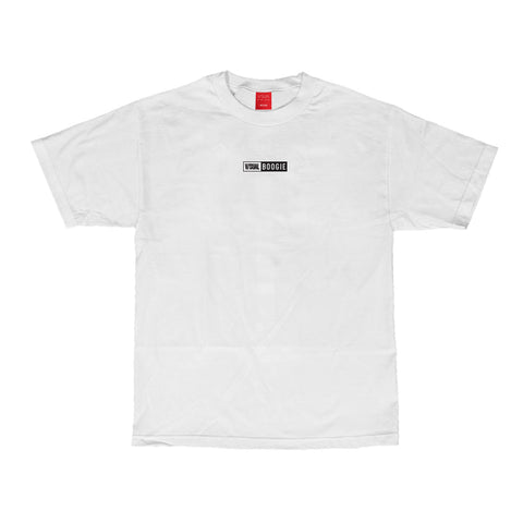 V/SUAL X BOOGIE Jail Tee - White
