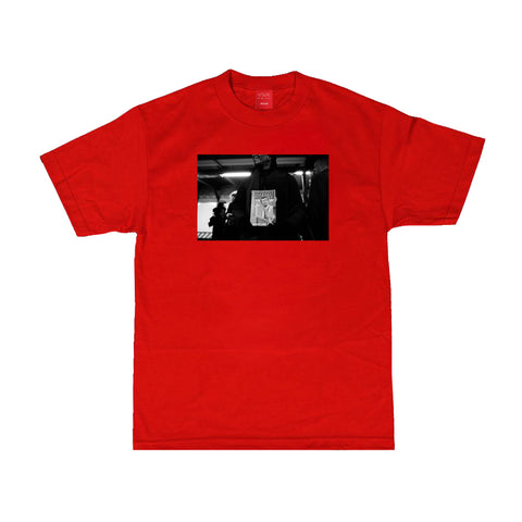 V/SUAL X BOOGIE Satan Tee - Red