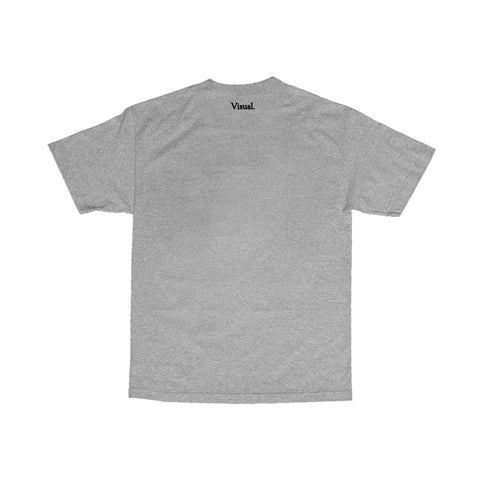 Collage Tee - Heather Grey