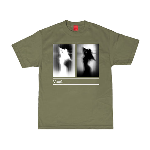 Caught Tee - Military Green