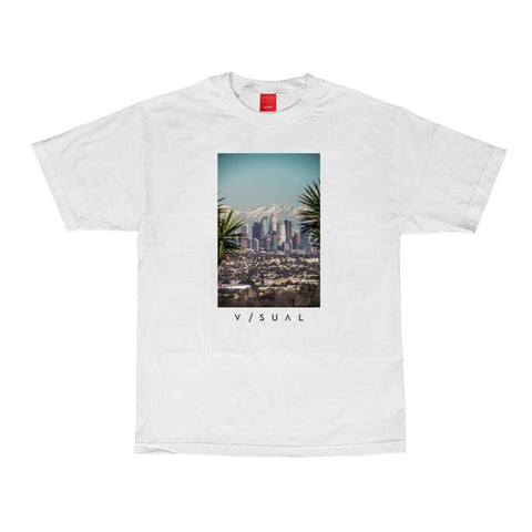 Snow Capped Tee - White