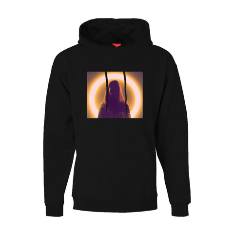 Halo Pullover Hoody - Black
