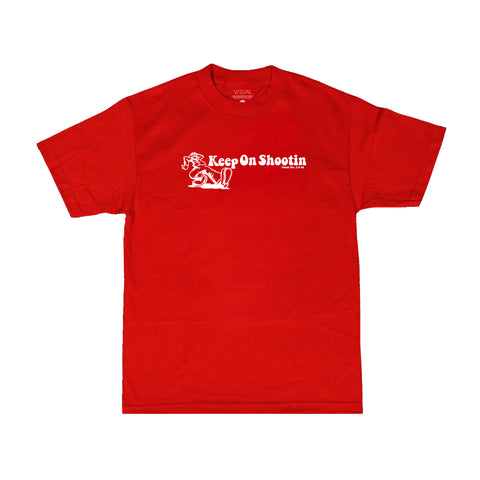 V/SUAL X Leica - Keep On Tee - Red
