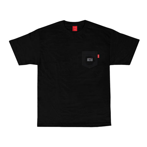 V/SUAL X Leica - M-Series Pocket Tee - Black
