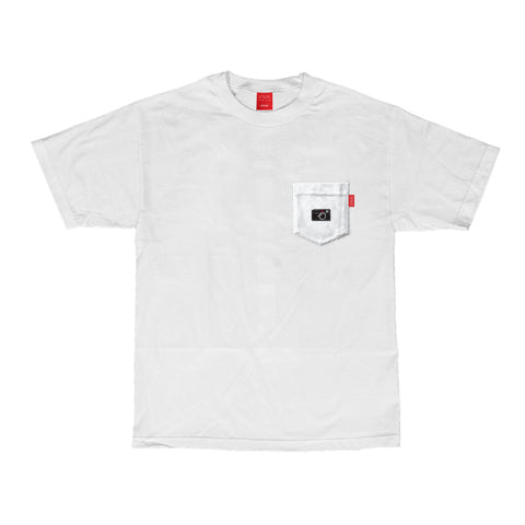 V/SUAL X Leica - M-Series Pocket Tee - White