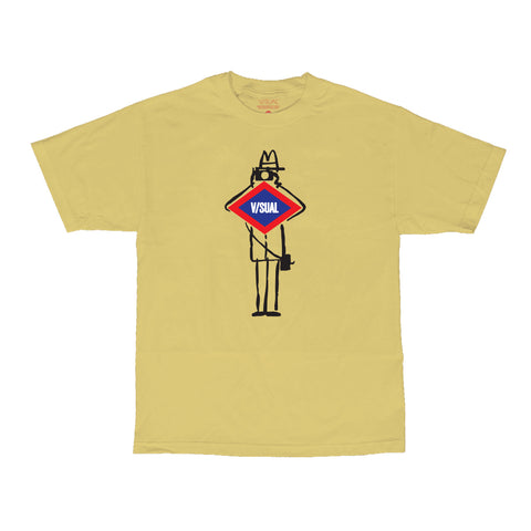 V/SUAL X Leica - Tourist Tee - Yellow