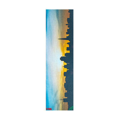 V/SUAL X MOB GRIP SF Sunset Grip Tape