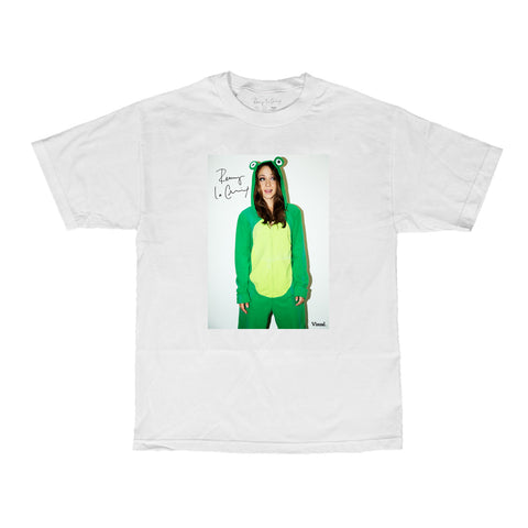 VISUAL X Remy LaCroix Froggy Tee - White